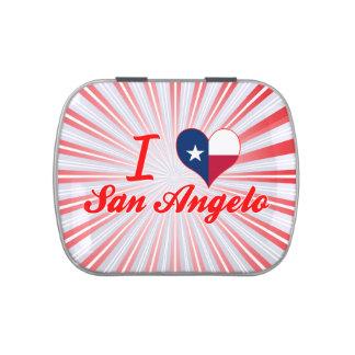 I Love San Angelo, Texas Candy Tins