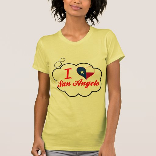 I Love San Angelo, Texas Tee Shirts