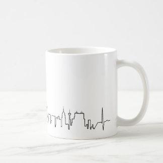 I love San Antonio in an extraordinary ecg style Coffee Mug