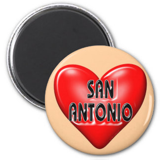 I Love San Antonio Fridge Magnets