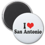 I Love San Antonio Magnets