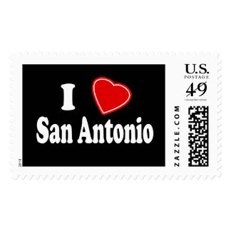 I Love San Antonio Postage