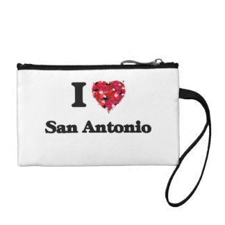 I love San Antonio Texas Change Purse