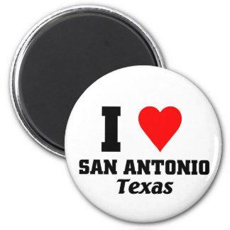 I love San Antonio, Texas Magnet