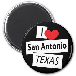 I Love San Antonio Texas Refrigerator Magnet