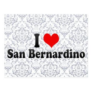 I Love San Bernardino, United States Postcards