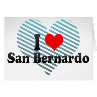 I Love San Bernardo, Chile Card
