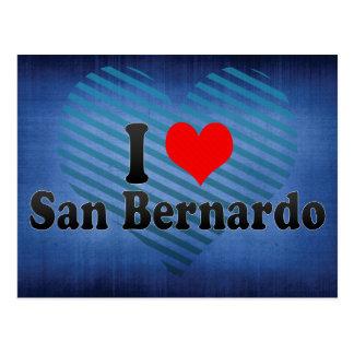 I Love San Bernardo, Chile Postcard