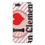 I Love San Clemente, United States iPhone 5 Cases