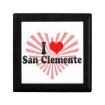 I Love San Clemente, United States Keepsake Box