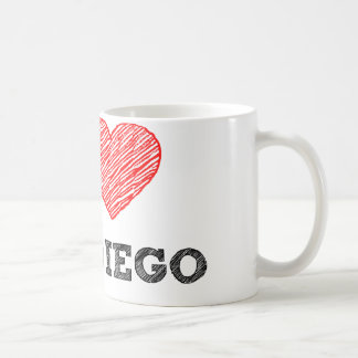 I Love San Diego Coffee Mug
