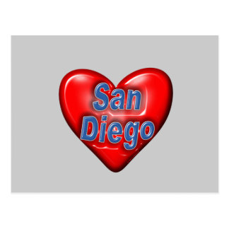 I Love San Diego Post Cards