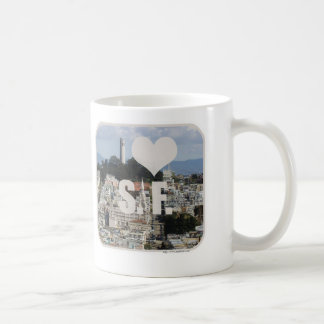 I Love San Francisco Coffee Mug
