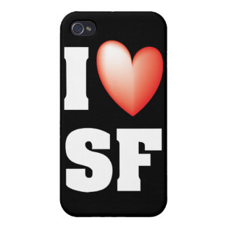 I Love San Francisco Case For iPhone 4