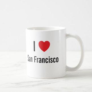 I love San Francisco Classic White Coffee Mug