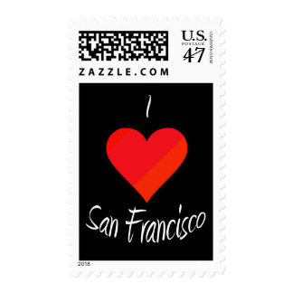 I Love San Francisco Postage