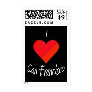 I Love San Francisco Stamp