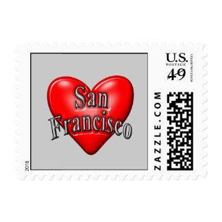 I Love San Francisco Postage