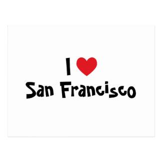 I Love San Francisco Postcards