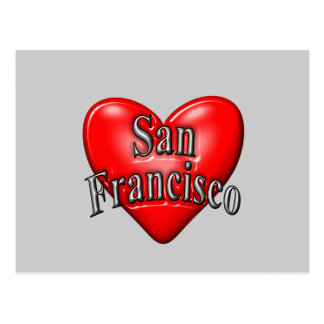 I Love San Francisco Post Card