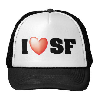 I Love San Francisco Trucker Hat