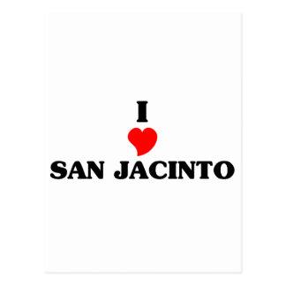 I love San Jacinto Postcard