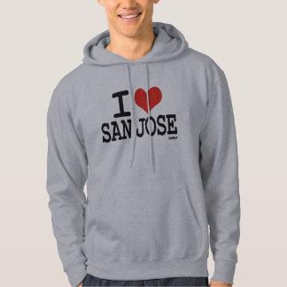 I love San Jose Hoodie