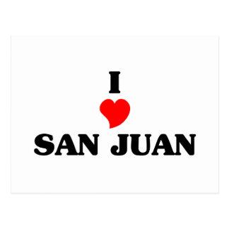 I love San Juan Capistrano Postcard