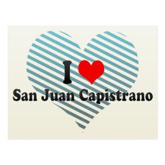 I Love San Juan Capistrano, United States Postcard