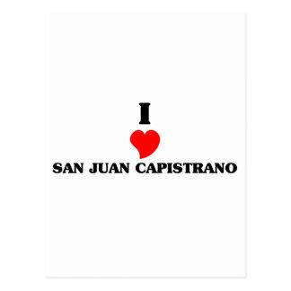 I love San Juan Postcard