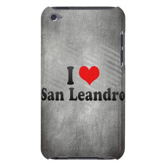 I Love San Leandro, United States Barely There iPod Cover