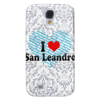 I Love San Leandro, United States Samsung Galaxy S4 Case