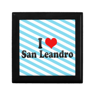 I Love San Leandro, United States Gift Boxes