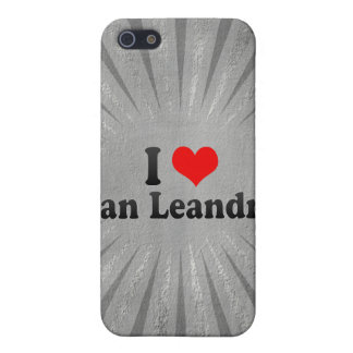 I Love San Leandro, United States Covers For iPhone 5