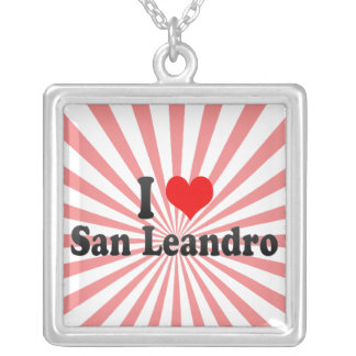 I Love San Leandro, United States Necklaces