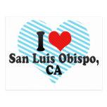 I Love San Luis Obispo,+CA Postcard