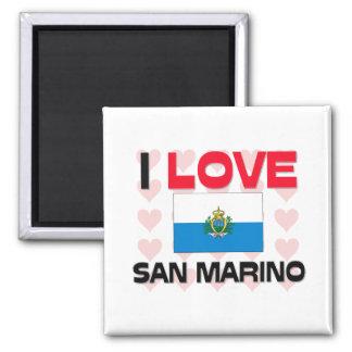 I Love San Marino Magnet