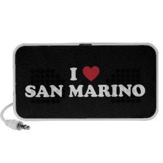 I Love San Marino Portable Speaker