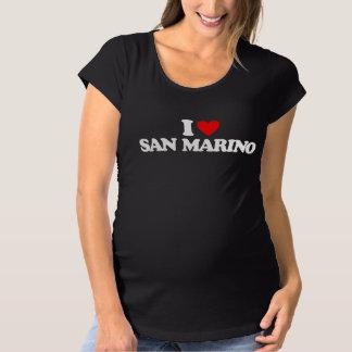 I LOVE SAN MARINO SHIRT