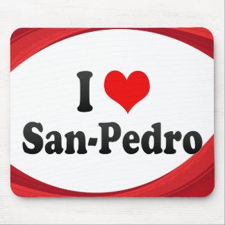 I Love San-Pedro C�te d Ivoire Mouse Pads