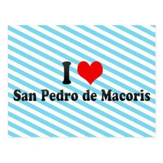 I Love San Pedro de Macoris, Dominican Republic Postcard