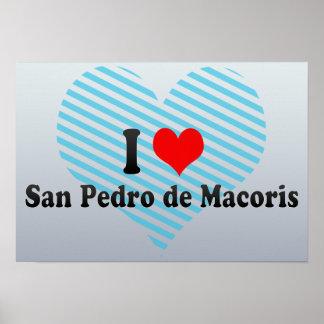 I Love San Pedro de Macoris, Dominican Republic Print