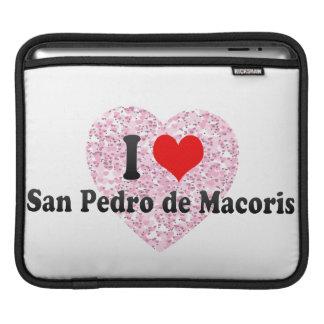 I Love San Pedro iPad Sleeves
