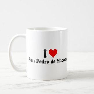 I Love San Pedro Coffee Mugs