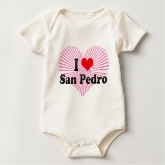 I Love San Pedro, Philippines Baby Bodysuit