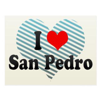 I Love San Pedro, Philippines Postcard