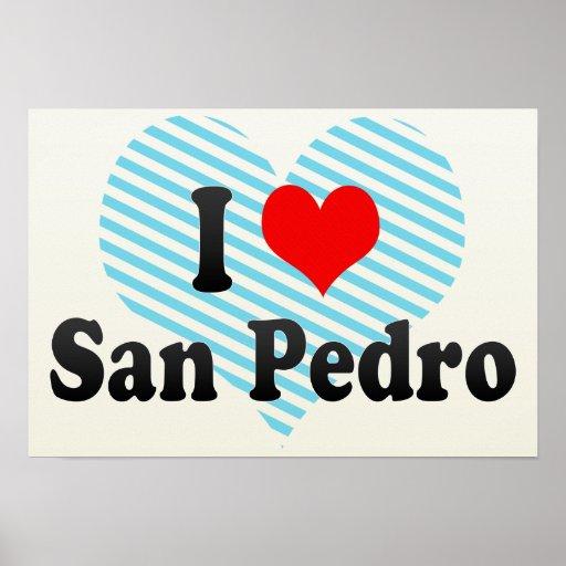 I Love San Pedro, Philippines Print