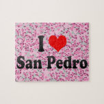 I Love San Pedro, Philippines Puzzle