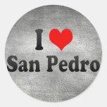 I Love San Pedro, Philippines Stickers