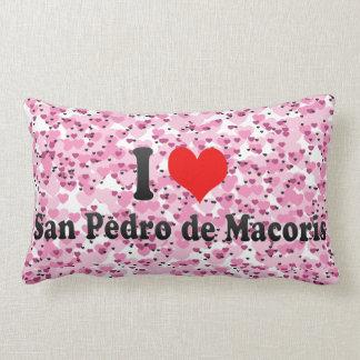 I Love San Pedro Throw Pillow